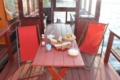 Floß mit Grillpaket